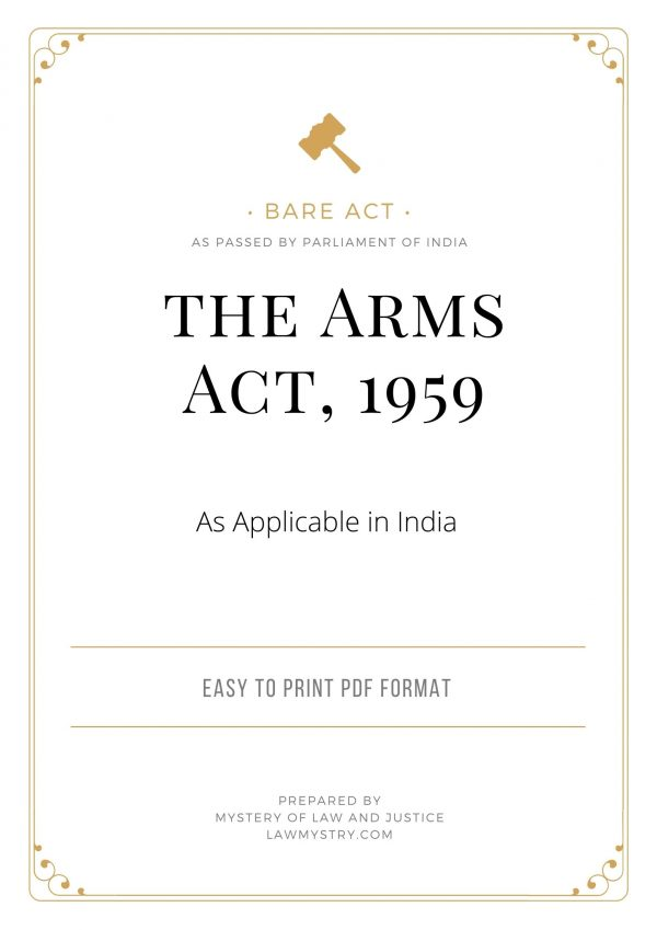 Arms Act 1959