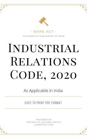 Industrial Relations Code 2020